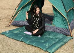 1 x 180*112*3CM Double inflatable tent sleeping bag for outd