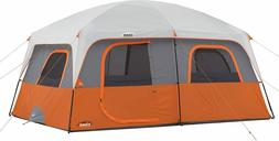 10 Person Straight Wall Cabin Tent 14' x 10' Adjustable Vent