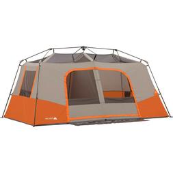 Ozark Trail 11-Person Instant Cabin Tent with Private Room H