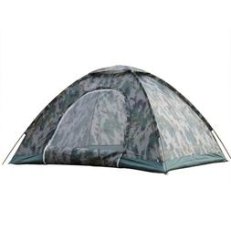 New 4 Season 3-4 Person Family Camping Tent Windproof Waterp