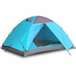 Vicona 2 Person Double Layer Camping Tent  Waterproof Lightw