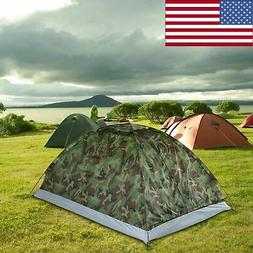 2 Person Single Layer Tent Waterproof FOR Outdoor Camping Hi