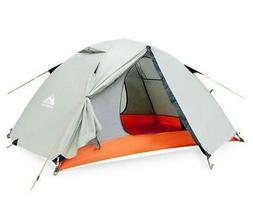 2 Person Waterproof Tent, Outdoor, Recreation, Double Layer,