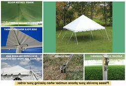 20 x 20 Celina Tent Classic Pole Tent for Wedding Outdoors E