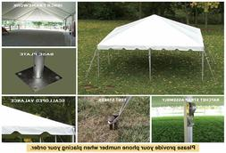 20'x20' Classic Frame Party Tent West Coast for Wedding Cate