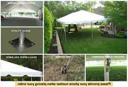 20ft x 50ft Celina Tent Classic Frame White Wedding Outdoor