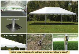 Celina Tent 20x30 White Classic Frame Tent Outdoor Party Wed