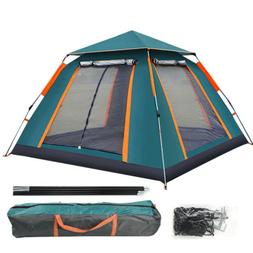 3 4 people automatic popup cabin camping