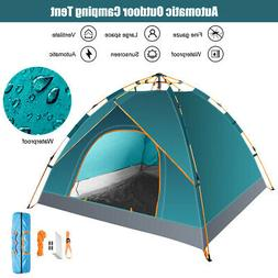 3-4 People Waterproof Automatic Outdoor Shelter Instant Open