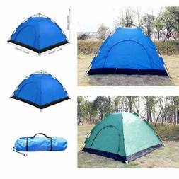 3-4 Person Camping Backpacking Tents Waterproof Automatic Po