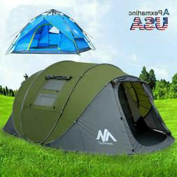 3 - 6 Person Instant Pop Up Family Waterproof Family Backpac