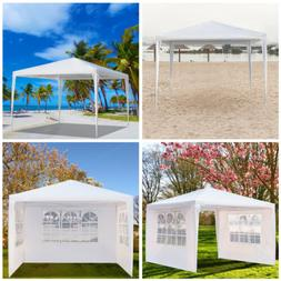 3 x 3m Three Sides Waterproof Tent with Spiral Tubes White I