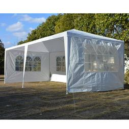 3 x 6m Four Sides Waterproof Tent with Spiral Tubes White fo
