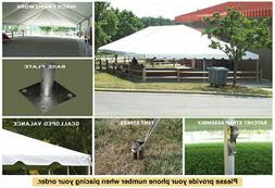 30x60 Classic Series Frame Tent Corporate Wedding Outdoor Ev