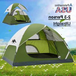 4-5Person Family Instant Pop Up Tent Waterproof Backpacking