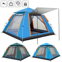 4 6 person instant up camping tent