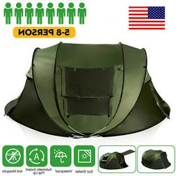 5-8 Persons Waterproof Tent Automatic Instant Open Shade Cam