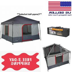 6-Person 10x10ft ConnecTent for Straight-Leg Canopy Tent Fam
