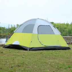 6-Person Dome Camping Tent Man Family Tent Camping Backpacki