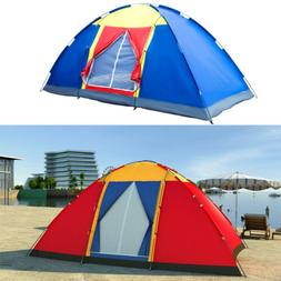 8 Person Large Family Tent Dome Traveling Camping Hiking Out