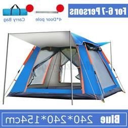 Automatic Outdoor Hiking Camping Pop-Up Tent Waterproof UV P