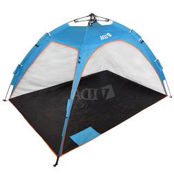 Beach Tent Sun Water Resistant Pop-up Outdoor Canopy Shelter