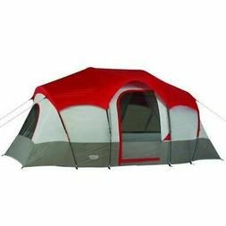 Wenzel Blue Ridge Tent, Red, 7 Person Red