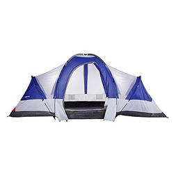 North Gear Camping Deluxe 8 Person 2 Room Family Tent 18' x
