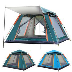 Camping Tent Silver Coated Waterproof Pop Up Tent Advanced V