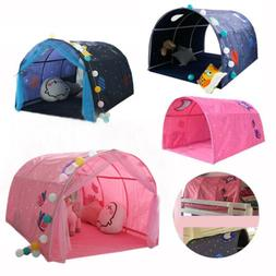 Childrens Bed Tent Game House Foldable Kid Dream Pop Up Crib
