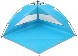 Yodo Easy Up Beach Tent Sun Shelter Quick Cabana With Carry