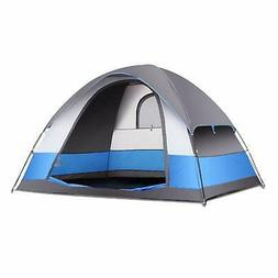 SEMOO Family Dome Tent for Camping Water Resistant 5 Person