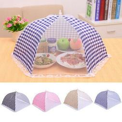 Summer Kitchen Food Cover Tent Outdoor Camp Cake Mesh Net Mo