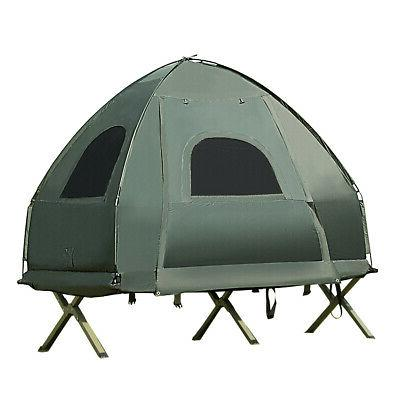 1-Person Compact Tent/Camping Mattress &