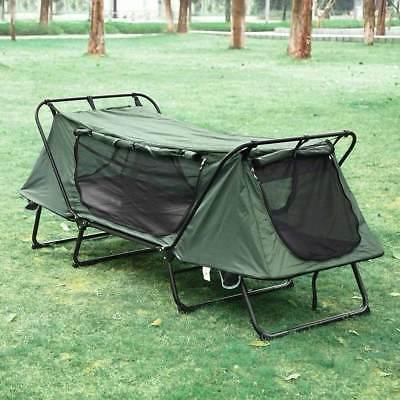 1-Person Camping Cot Bed