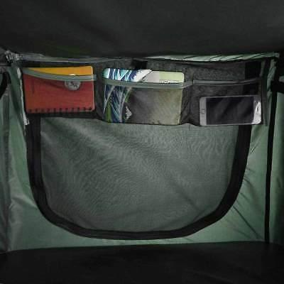 1-Person Folding Camping Cot Hiking Bed Carry
