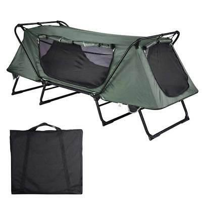 1 person folding camping tent cot outdoor