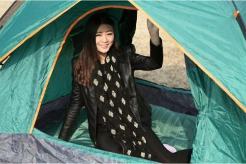 1 Double inflatable tent sleeping bag for outdoor