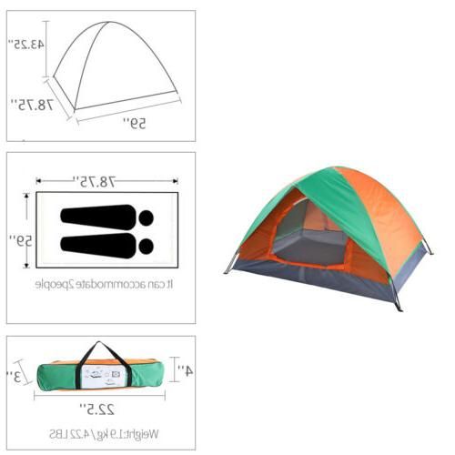 2-3 Pop Beach Automatic Instant Camping Tent Shelter