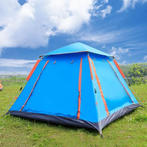 4-6 Person Camping Tent UV Waterproof