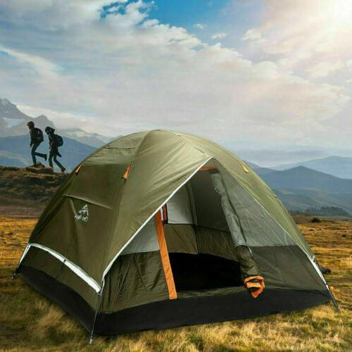 3-4 210T Double-layer Up Tent