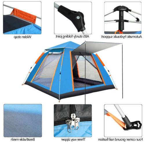 4-6 Instant Up Camping Waterproof