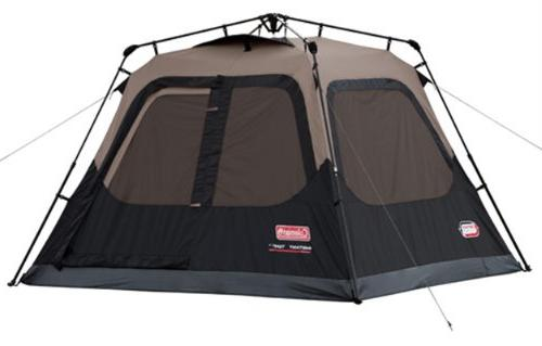 Coleman 4-Person Cabin Tent with Instant Setup   Cabin Tent
