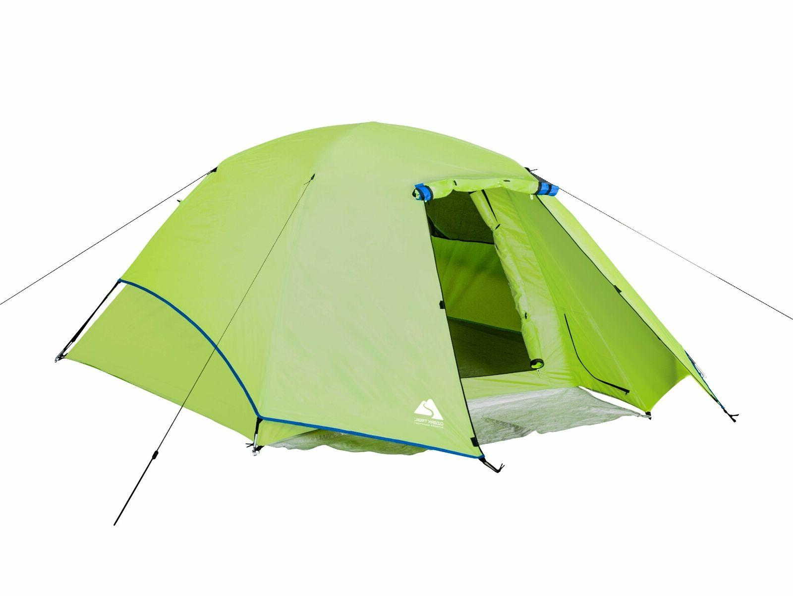 4 person outdoor camping dome tent