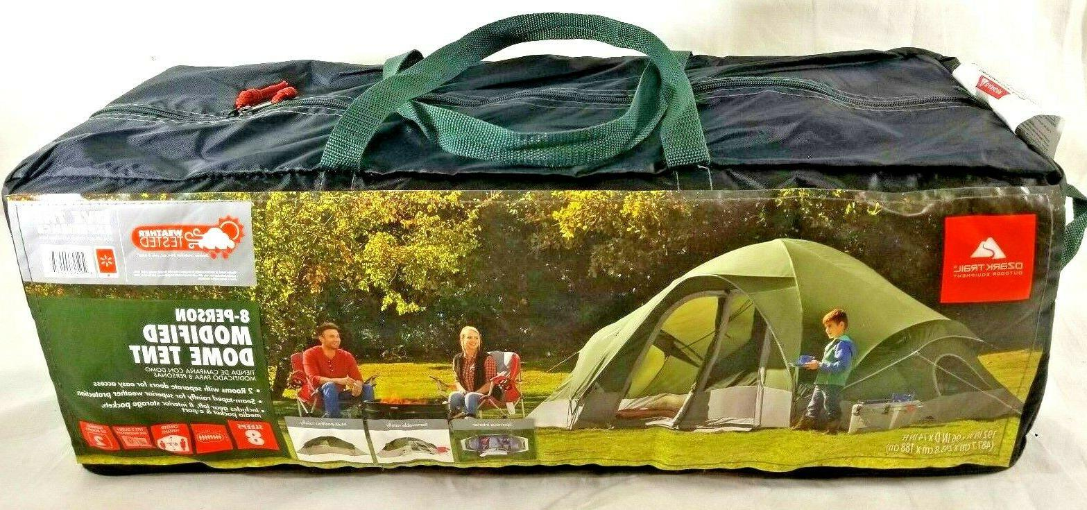 8 person instant cabin 2 room family