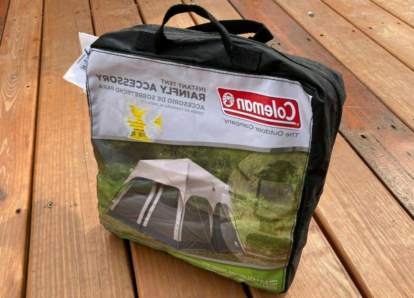 Coleman 8-Person Instant Tent Rainfly Accessory 14 x 8 Ft  -