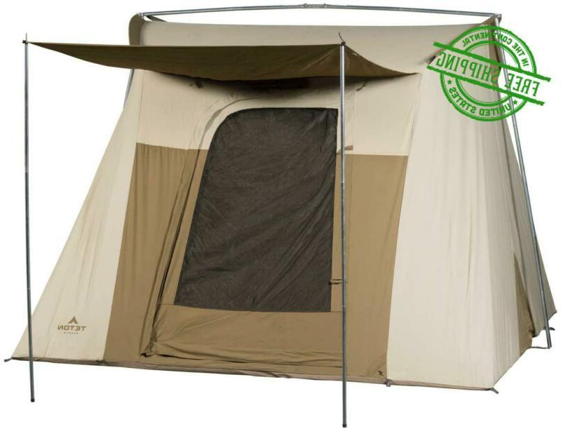 camping tent backpacking 6 person brown mesa