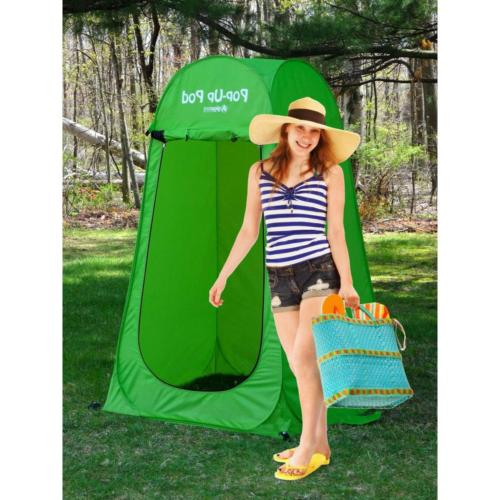 Changing Tent Pop Up Pod Green 3 ft. x 69 in. Dressing Room