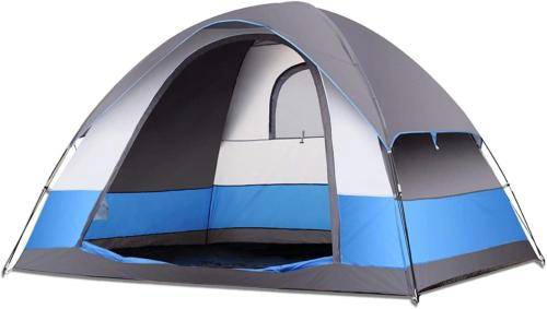 SEMOO Family Dome Tent for Camping, Water Resistant 5 Person