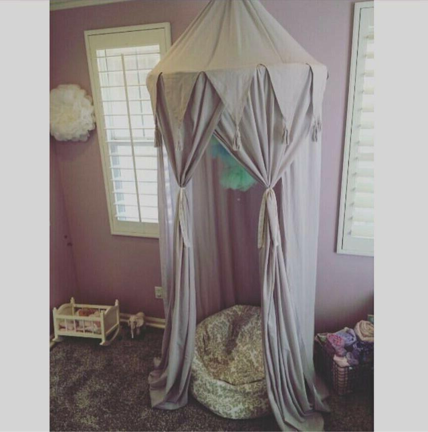 Home Bed Kids Dome Net Tent Curtain DIY